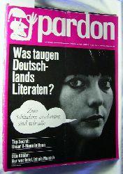 Pardon, Die deutsche satirische Monatsschrift, 3. Jahrgang, Heft 1-12.,50 Seiten pro Heft.