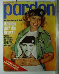 Pardon, Die deutsche satirische Monatsschrift, Jahrgang 1977, Heft 1-12,