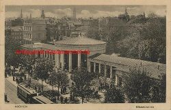 Historische Ansicht aus Deutschland um 1900,  Aachen/Elisenbrunnen, 19x13cm