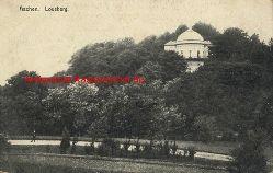 Historische Ansicht aus Deutschland um 1900,  Aachen/Lousberg, 19x13cm