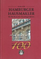 Hertz, Henrik  Hamburger Hausmakler. Die Bankiers des Grundeigentümers. ,Zum einhundertjährigen Bestehen Verein Hamburger Hausmakler von 1897 e. V.
