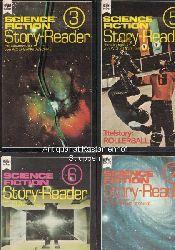 Jeschke, Wolfgang (Herausgeber); Franke, W. (Herausgeber)  Konvolut 6 Bücher: Science Fiction Story-Reader. 1. Science Fiction Story-Reader 3. 2. Science Fiction Story-Reader 5 (1975). 3. Science Fiction Story-Reader 6 (1976). ,4.  Science Fiction Story-Reader 7 (1977). 5.  Science Fiction Story-Reader 9 (1978). 6.  Science Fiction Story-Reader 13 (1980).