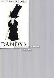 Max Beerbohm  Dandys & Dandys,Ausgesuchte Essays und Erzählungen