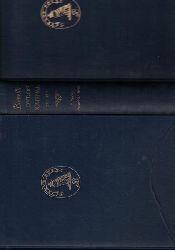 Boswell, James  Konvolut 2 Bücher: 1.: Boswell in Holland 1763-1764 - including his correspondence with Belle de Zuylen (Zelide),2.: Boswell