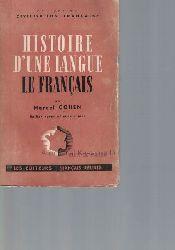 Cohen, Marcel  Histoire d