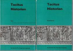 Tacitus, Cornelius  Konvolut 2 Bücher: Tacitus Historien.Aschendorffs Sammlung lateinischer und griechischer Klassiker,1.: Kommentar; 2.:Text
