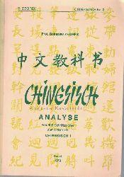 Zborek, Bohuslav  Chinesisch Nr.2,Analyse von 406 Schriftzeichen zum Lehrbuch Chinesisch I