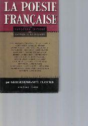 Clancier, Georges-Emmanuel  De Chenier a Baudelaire. Panorama critique.