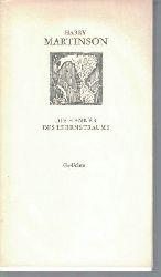 Martinson, Harry  Die Henker des Lebenstraumes,Gedichte.Nachgedichtet von Bernd Jentzsch