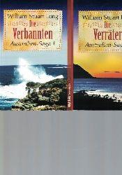 Long, William Stuart  Vier (4) Bände der Australien-Saga: Band 1, 3, 4, 6,Die Verbannten/ Die Verräter/ Auf den Spuren der Väter/  Das weite Land.