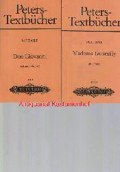 Sonnleithner, Joseph; Treitschke, Georg Friedrich  Konvolut 12 Bücher Peters-Textbücher