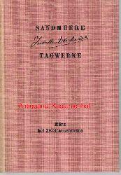 Eberhardt, Isabelle  Sandmeere ,1. Tagwerke. Mit einem Vorwort von H.C. Buch