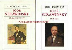 Hirsbrunner, Theo  Konvolut 2 Bücher: Igor Strawinsky,1. Igor Strawinsky in Paris