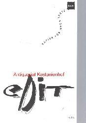 Dorn, Katrin; Tornau, Sylvia; Hensel, Jana; Albinsky, Jörg; Pfeuffer, Silvio  eDit Papier für neue Texte Nr. 6