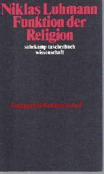 Luhmann, Niklas  Funktion der Religion