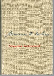 Deutsche Akademie der Künste; Becher, Johannes R.; Becher, Lilly  Sinn und Form. Beiträge zur Literatur,Zweites Sonderheft Johannes R. Becher