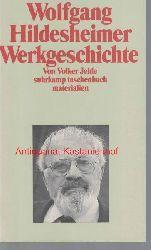 Jehle, Volker  Wolfgang Hildesheimer Werkgeschichte,Suhrkamp Taschenbuch, 2109