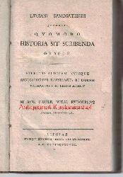 Samosate, Lucien de; Rudolph, August Fridrich Wilhelm  Luciani Samosatensis quaestio quomodo historia sit scribenda graece