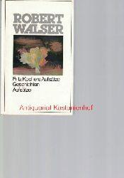 Walser, Robert; Greven, Jochen; Schäfer, Jörg; Mächler, Robert  dreizehn (13) Bände: Robert Walser. Das Gesamtwerk,Band 1: Fritz Kochers Aufsätze, Geschichten und Aufsätze