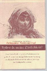 Mistral, Gabriela  Spürst du meine Zärtlichkeit?,Mit 12 Zeichnungen von Walter Roshardt