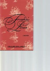 Auslander, Shalom  Foreskins Lament,A Memoir