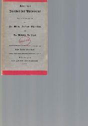 Schelling, Friedrich Wilhelm Joseph; Hegel, Georg Wilhelm Friedrich  Kritisches Journal der Philosophie ,1802/1803