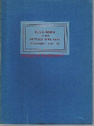 Buffalo Academy of Fine Arts  Blue Book of the Buffalo Fine Arts Academy, in which is incorporated the Albright Art Gallery and the Albright Art School. 1931-1942