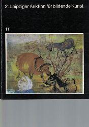 Schulz, Hans-Peter; Schulz, Gisela; Teller, Johanna  2. Leipziger Auktion für bildende Kunst am 16. Juni 1979 in der Alten Börse,Galerie am Sachsenplatz. Staatlicher Kunsthandel der DDR. Katalog 11