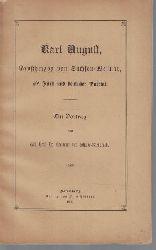 Schulze-Gaevernitz, Hermann von  Karl August Großherzog von Sachsen-Weimar, als Fürst und deutscher Patriot, Ein Vortrag