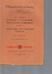 Kolbe, R. W.  Zur Ökologie, Morphologie und Systematik der Brackwasser-Diatomeen,Die Kieselalgen des Sperenberger Salzgebiets