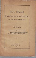 Schulze-Gaevernitz, Hermann  Karl August, Großherzog von Sachsen-Weimar, als Fürst und deutscher Patriot, Ein Vortrag