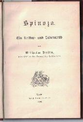 Bolin, Wilhelm  Spinoza. Ein Kultur- und Lebensbild