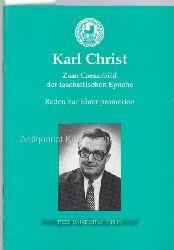 Christ, Karl; Freie Universität Berlin  Zum Caesarbild der faschistischen Epoche. Reden zur Ehrenpromotion