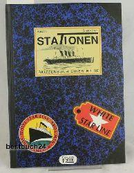 Rascal ; Joos, Louis  Stationen,Skizzenbuch einer Reise, erzählt von Rascal. Mit Bildern von Louis Joos. Aus dem Französischen von Hinrich Schmidt-Henkel