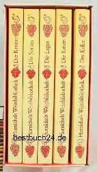 Hornickels Weinbibliothek in fünf (5) Bände,Band 1 (eins) - Der Kenner, Einführung in eine fröhliche Wissenschaft; Band 2 (zwei) - Die Sorten, Die beliebtesten Weine der Welt und ihre Reben; Band 3 (drei) - Die Lager, Ein Wein- Gotha der grossen Lagen und der Spitzenweine Europas; Band 4 (vier) - De