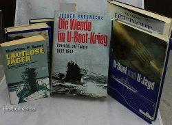 Paul Herbert Freyer/Franz Kurowski/P.H.Freyer - /R.Lakowski /B.Herzog /Th.P.Savas / G.Krause /J.Brennecke /Franz Kurowski/ E. Wetzel  Konvolut 8 Bücher über U-Boote: 1. Der Tod auf allen Meeren 2. U-Boote - Militärverlag 3. Deutsche U-Boote 1906-1966 ,4.Lautlose Jäger, 5 U-Boot und U-Jagd -6. Die Wende im U-Boot-Krieg, 7. Krieg unter Wasser, 8. Der u-Boot-Krieg im Nordmeer