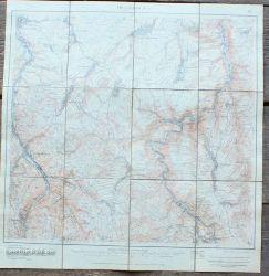 Hauptvertriebsstelle amtlicher Landkarten von Sachsen (Hrg)  Dippoldiswalde  1:25.000
