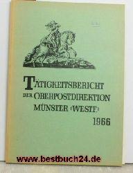 Tätigkeitsbericht der Oberpostdirektion Münster