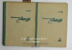 Dr. Otto Croy  Hunderterlei Fotokniffe 2 Bände,Band 1 (eins)  - 30.- 35. Tausend - mit 110 Bildern des Verfassers - und Band 2 (zwei) - 19.- 24. Tausend - mit 165 Bildern des Verfassers