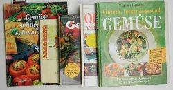Homann, Sieglinde / Blackburne-Maze, Peter  Konvolut 5 Bücher über Gemüse - Anbau und Zubereitung: 1. Gemüse schnell und schmackhaft,2. Gesundes Gemüse 3. Gemüse 4. Gemüse 5. Obst & Gemüse