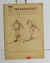 Freundschaft ,Werbeschrift der Sektion Touristik. Januar 1953.