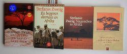 Zweig, Stefanie  Konvolut 4 Romane über Afrika von Stefanie Zweig.,1. ... doch die Träume blieben in Afrika. 2. Nirgendwo in Afrika.