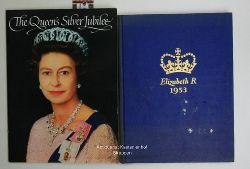 Hedley, Olwen ; Pugh, Jane / R., Elizabeth  Konvolut 2 Bücher über die Queen. 1. The Queen