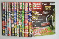 Modelleisenbahner Magazin  Konvolut 12 Modelleisenbahner Magazine für Vorbild und Modell.,Komplett alle Ausgaben 1/98 bis 12/98. Jahrgang 47.