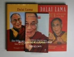 Gruschke, Andreas  Konvolut 8 Bücher über und vom den Dalia Lama. 1. Dalai Lama.,2. Frieden im Herzen und in der Welt. Lebenspraktische Erläuterungen zur buddhistischen Weltsicht.