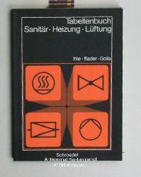 Ihle, Claus; Bader, Rolf; Golla, Manfred  Tabellenbuch Sanitär, Heizung, Lüftung. 6. Auflage.