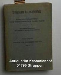 Melanchthon, Philipp  Supplementa Melanchthoniana. Werke Philipp Melanchthons die in ,Corpus Reformatorum vermisst werden. Herausgegeben von der Melanchthon-Kommission