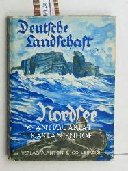 Gieseler, Hans  Deutsche Landschaft in Wort und Bild. Band 1  Nordsee. 6 farbige und 11 schwarzweisse Bilder,