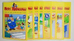 Disney, Walt  Konvolut 8 Kinderbücher der Reihe Mickys Verkehrsschule.,Spielen und lernen mit Mickey und seinen Freunden.