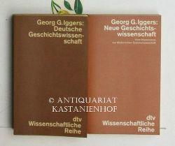 Iggers, Georg G.  Konvolut 2 Bände Deutsche Geschichtswissenschaft.,1. Eine Kritik der traditionellen Geschichtsauffassung von Herder bis zur Gegenwart.